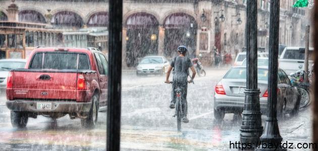 ما هي عناصر الطقس والمناخ