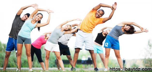 ما هي عناصر اللياقة البدنية