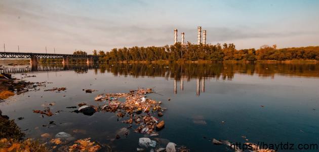 ما هي مصادر التلوث البيئي