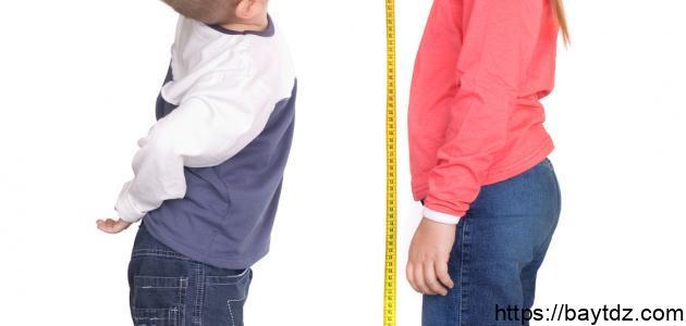 متى يتوقف نمو الطول عند البنات