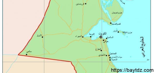 محافظات الكويت ومناطقها