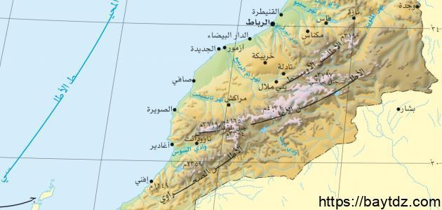 مدن دولة المغرب