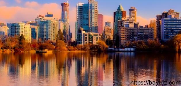 مدن في كندا