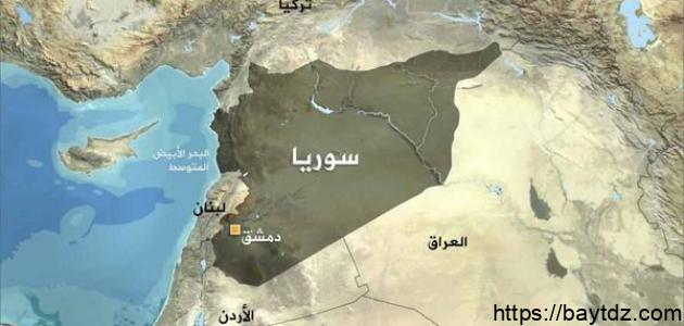 مدينة إدلب في سوريا