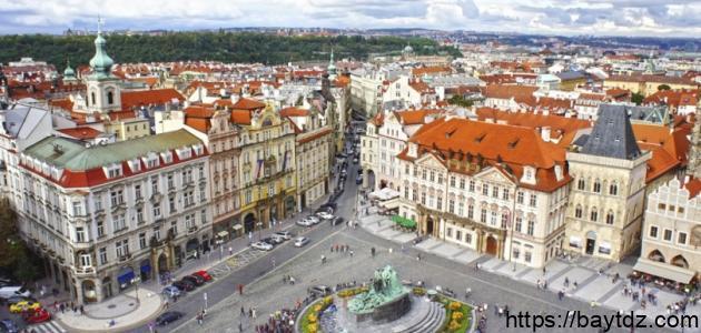 مدينة براغ في التشيك