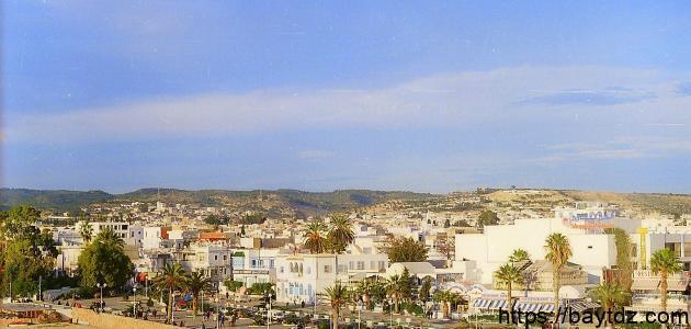 مدينة حمامات في تونس