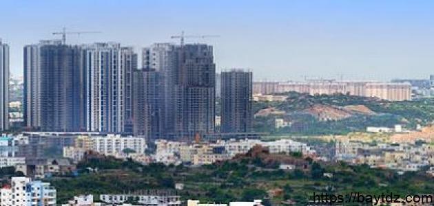 مدينة حيدر أباد الهندية