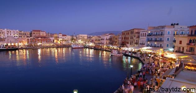 مدينة خانيا اليونانية