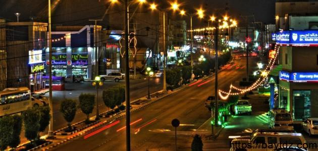 مدينة رابغ في السعودية