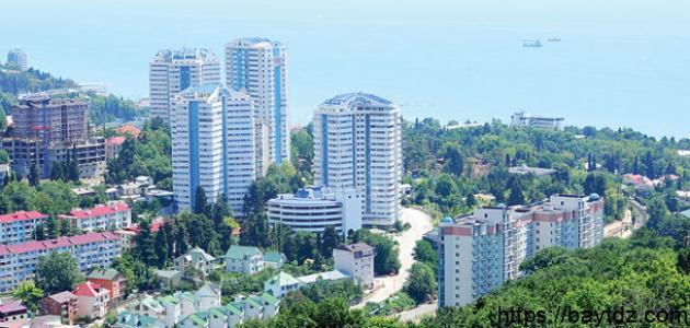 مدينة روسية على ساحل البحر الأسود