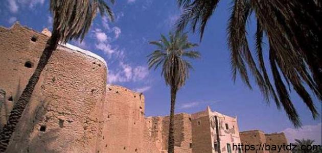 مدينة غدامس في ليبيا