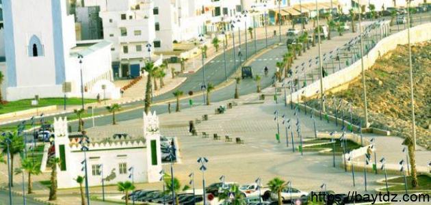مدينة فنيدق المغربية
