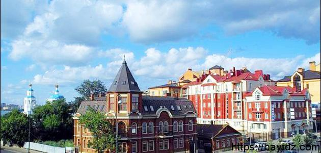 مدينة كازان في روسيا