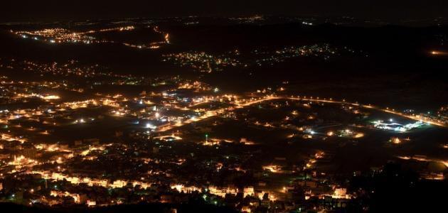 مدينة نابلس وقراها