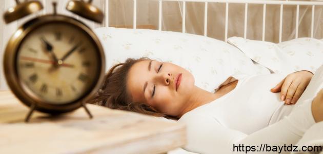 مراحل النوم الأربعة