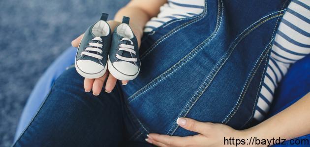 مراحل تكوين الجنين في الشهر التاسع