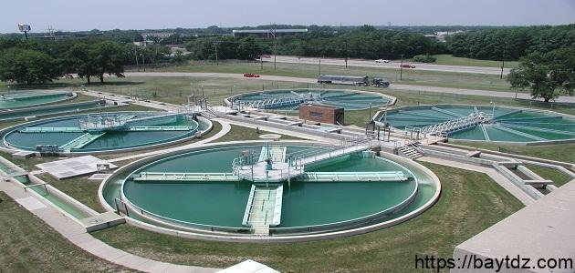 مراحل تنقية ومعالجة المياه