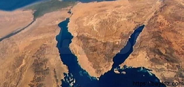 مساحة شبه جزيرة سيناء