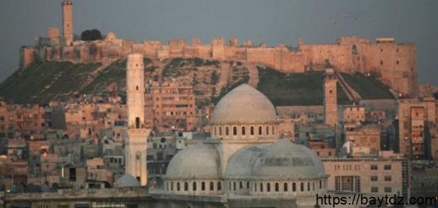 مساحة محافظة حلب