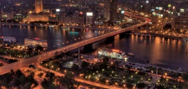 مساحة مدينة القاهرة