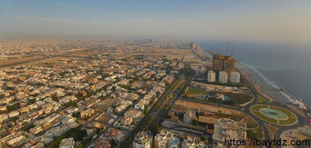 مساحة مدينة جدة