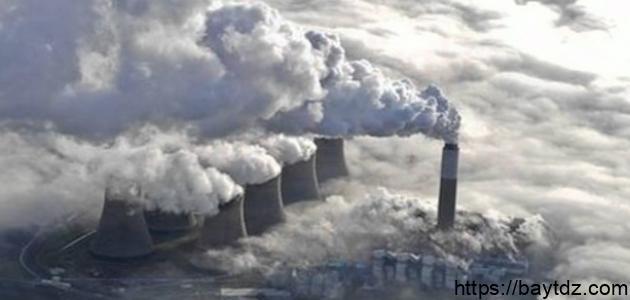 مظاهر التلوث