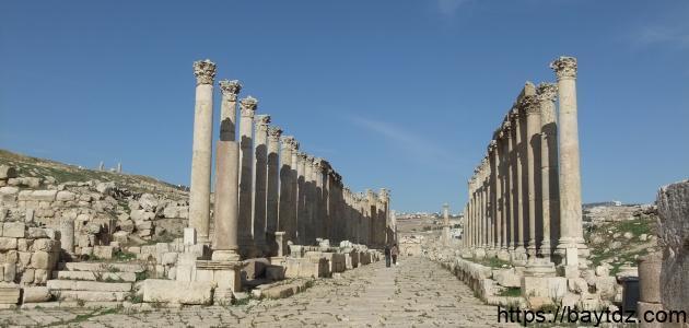 معلومات عن آثار الأردن