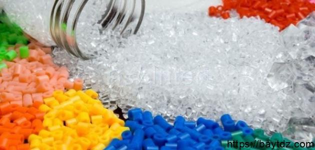 معلومات عن صناعة البلاستيك