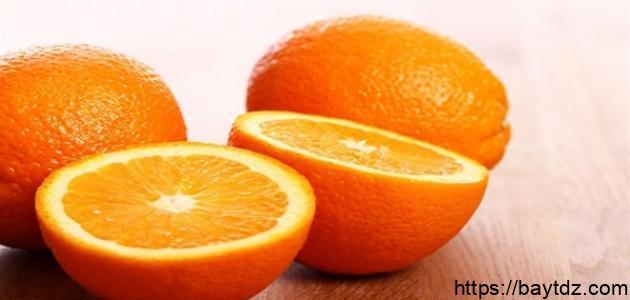 معلومات عن فوائد البرتقال