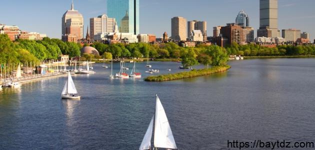 معلومات عن مدينة بوسطن الأمريكية