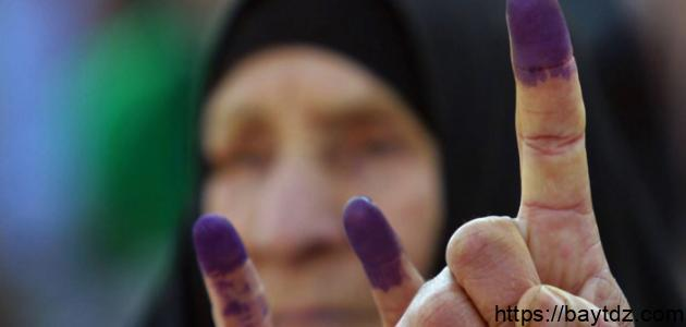 مفهوم الانتخابات