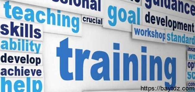 مفهوم التدريب وأهميته