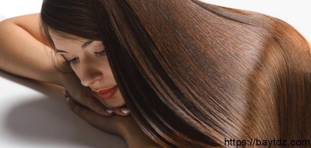 مكونات الكيراتين لفرد الشعر