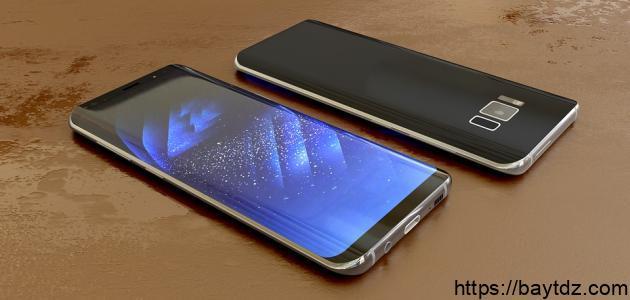مكونات الهاتف الذكي
