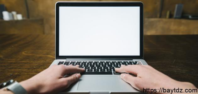 مكونات شاشة الكمبيوتر