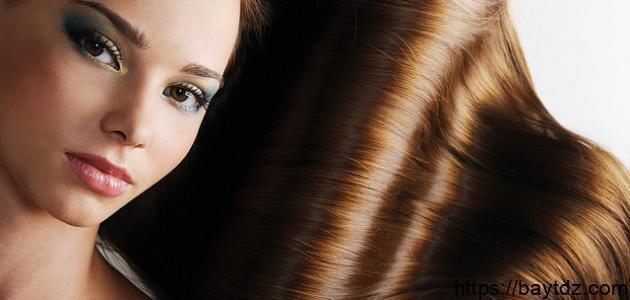 مكونات طبيعية لفرد الشعر
