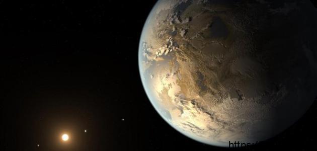 مم يتكون كوكب الأرض