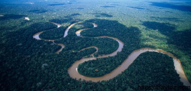 من أين ينبع نهر الأمازون
