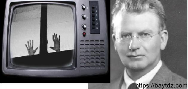 من الذي اخترع التلفاز