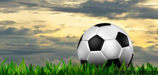 من الذي اخترع كرة القدم