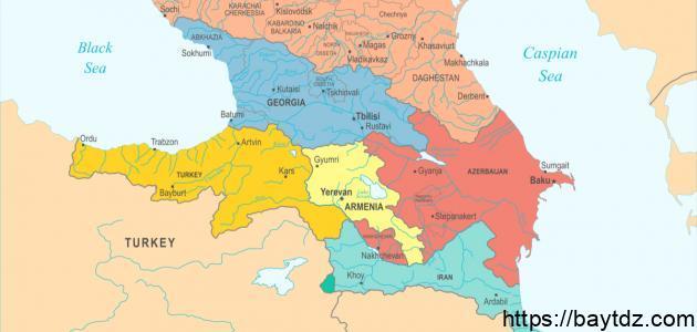 من دول القوقاز