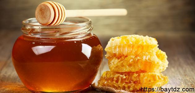 من فوائد العسل