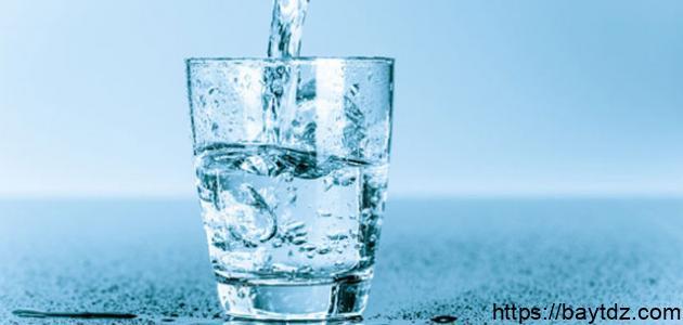 من ماذا يتكون الماء