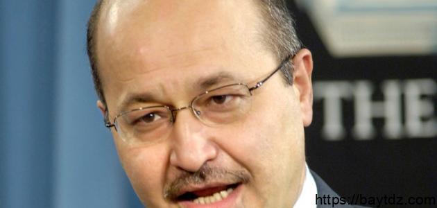 من هو رئيس العراق