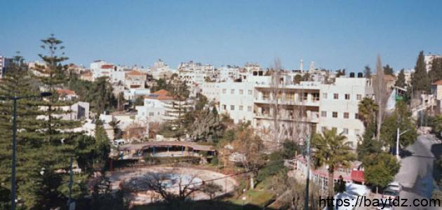 موقع مدينة رام الله