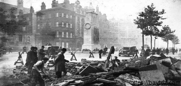 نتائج الحرب العالمية الأولى
