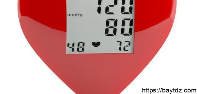 نسبة الضغط الطبيعي للإنسان