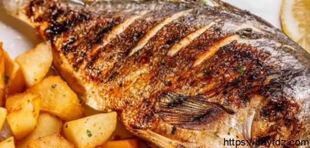 وصفات السمك المشوي
