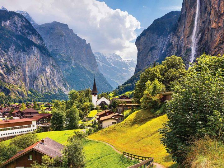 10 مناظر خلابه من سويسرا عالية الجودة