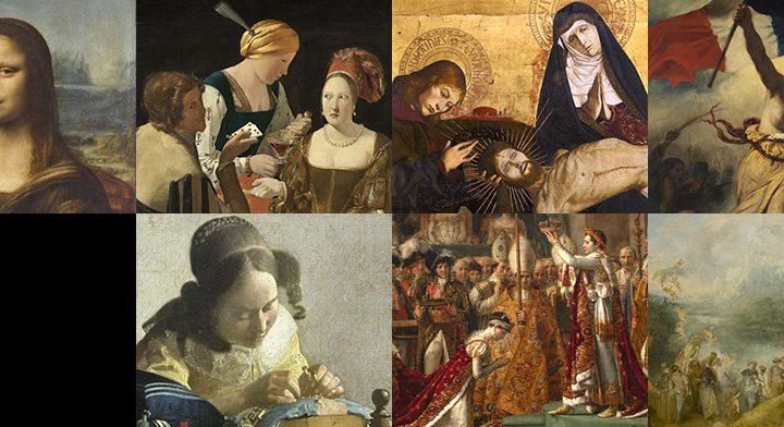 اشهر اللوحات المتواجدة في متحف اللوفر